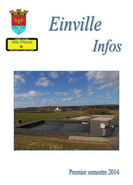 Bulletin semestriel 1 2014